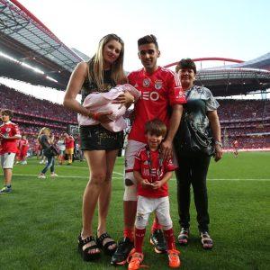 Fotos redes Sociais e SL Benfica/Facebook